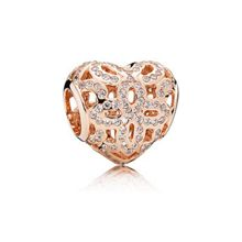 Pandora Rose love & appreciation heart charm