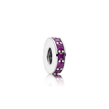Pandora Royal purple eternity spacer charm
