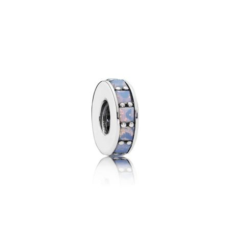 Pandora Opalescent eternity spacer