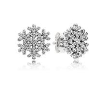Pandora Snowflake stud earrings
