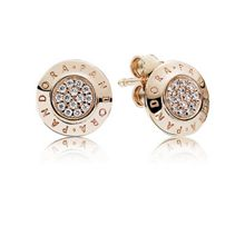 Pandora Rose signature stud earrings