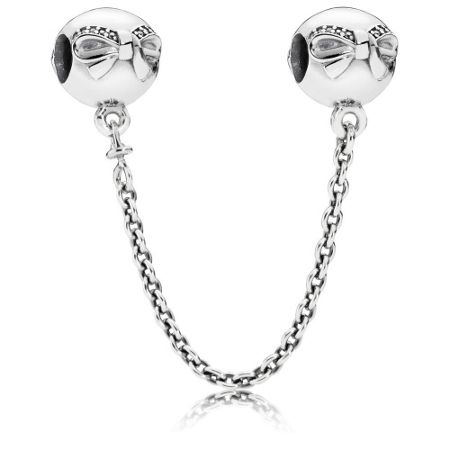 Pandora Dainty bow safety chain