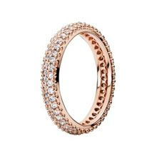 Pandora Rose classic band ring