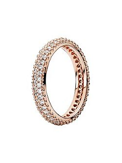 Rose classic band ring