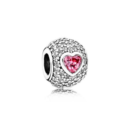 Pandora Captivating heart charm
