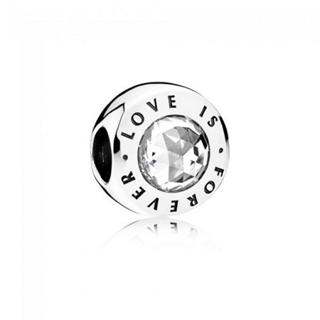 Pandora Love is forever charm