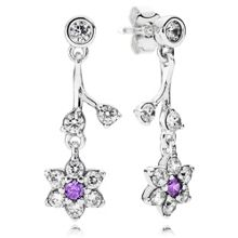 Pandora Forget me not drop earrings