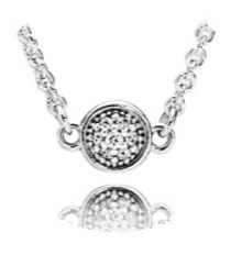 Pandora Dainty droplets necklace