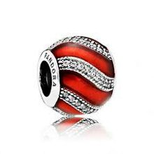 Pandora Red adornment charm