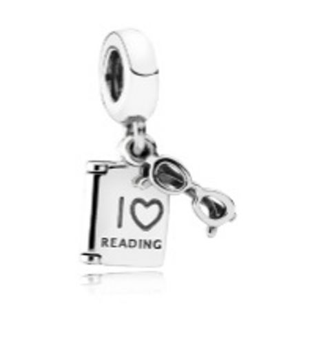 Pandora Love to read dangle charm