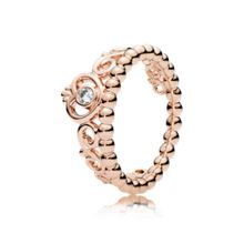 Pandora Princess tiara rose ring