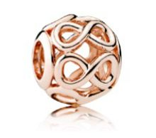 Pandora infinite shine rose charm