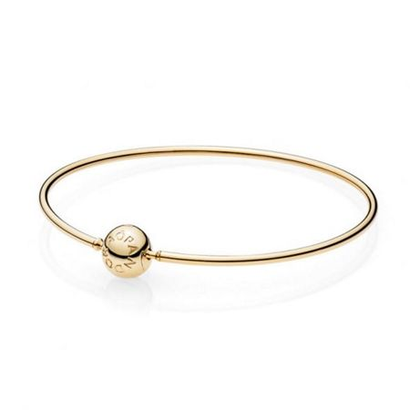 Pandora Essence 14ct gold bangle