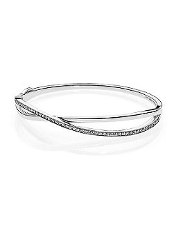 Star trail bangle