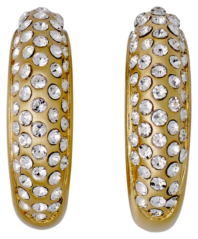 Pilgrim Gold Absolute Must Have Statement Earrings, Gold