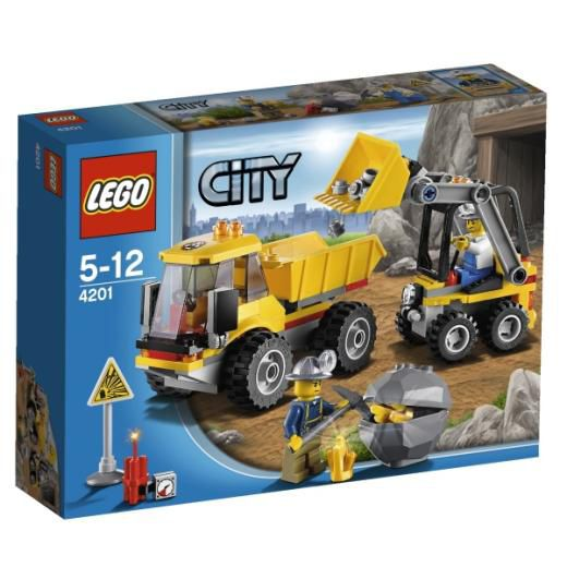 Lego 4201 Loader and tipper