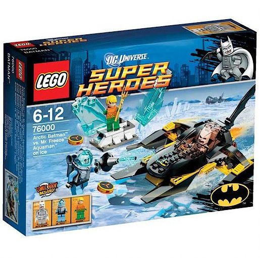Lego Super Heroes Artic Batman