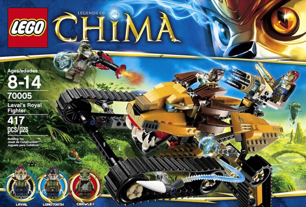 Lego Chima Lavals royal fighter