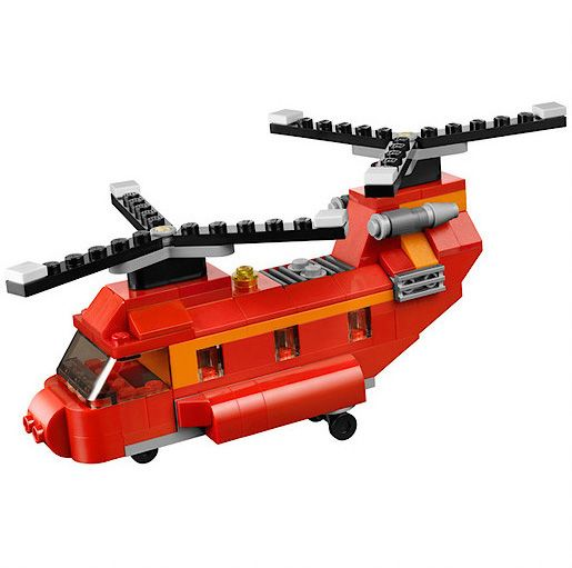 Lego Creator Red Rotors