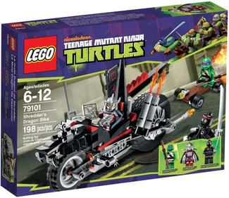 Lego Turtles 79101 Shredders Dragon Bike
