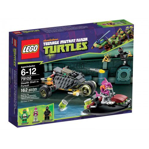 Lego Turtles 79102 Stealth Shell Pursuit