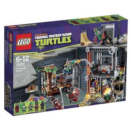 Lego Turtles 79103 Lair Attack