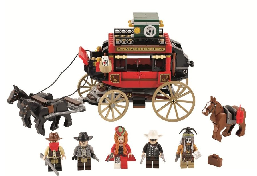 79108 Lego Stagecoach Escape