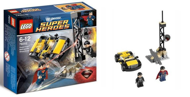 Lego 76002 Superman Metropolis Showdown