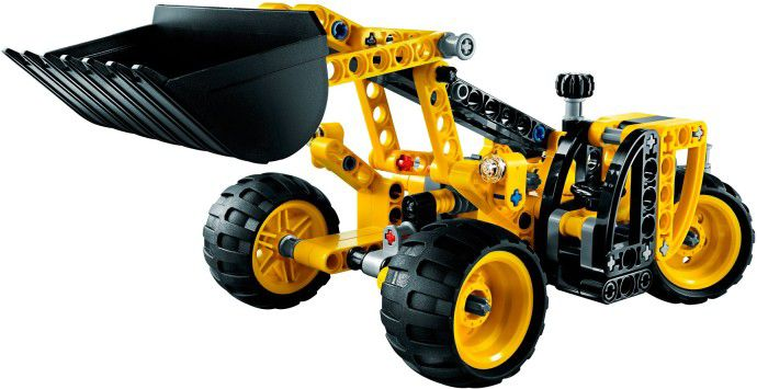 Lego Technic Mini Backhoe Loader