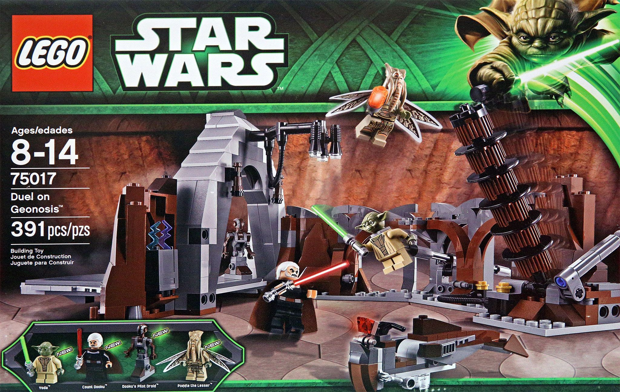 75017 Lego Duel On Geonosis
