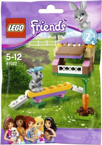 Lego Friends 41022 Bunnys Hutch