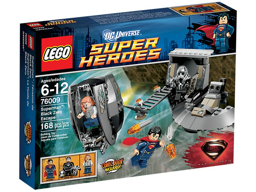 Lego 76009 Superman Black Zero