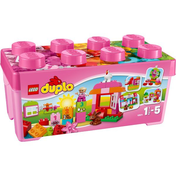 10571 Lego duplo all in one Pink box of fun