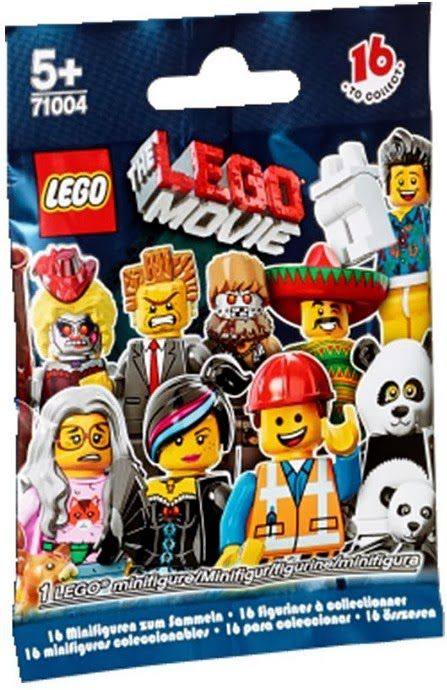 71004 Lego Movie Minifigure