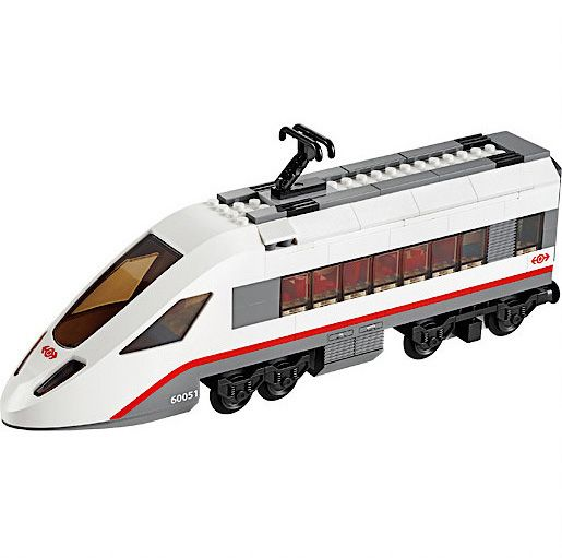 60051 City High Speed Passenger Train