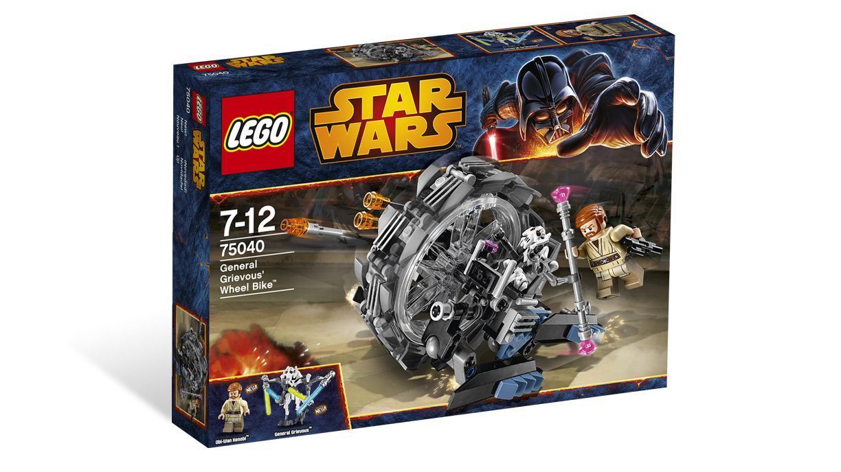 75040 General Grevious Wheel Bike