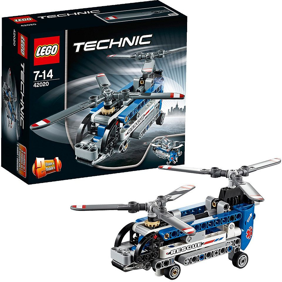 42020 Twin-Rotor Helicopter
