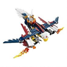 Legends of Chima Eris` Fire Eagle Flyer