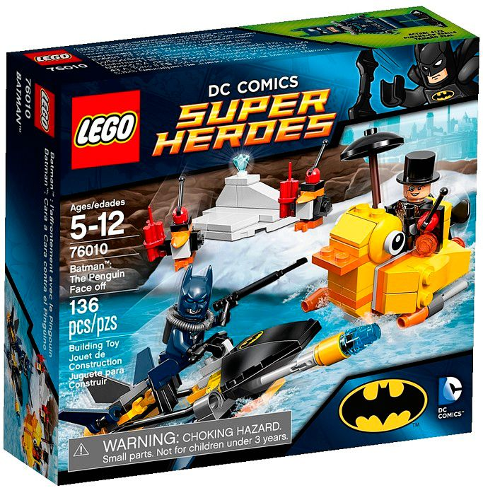 76010 Batman the Penguin Face Off