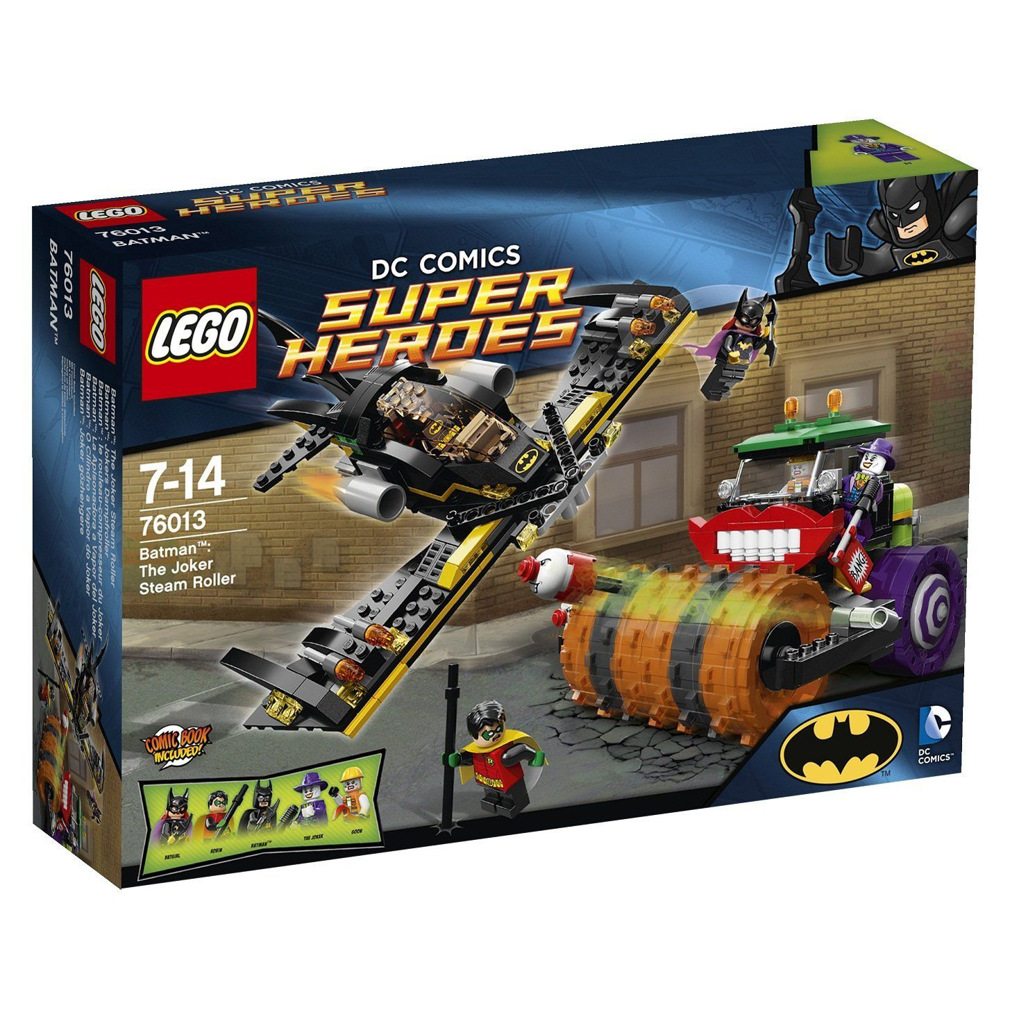 76013 Batman The Joker Steam Roller