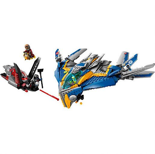 76021 Marvel The Milano Spaceship Rescue