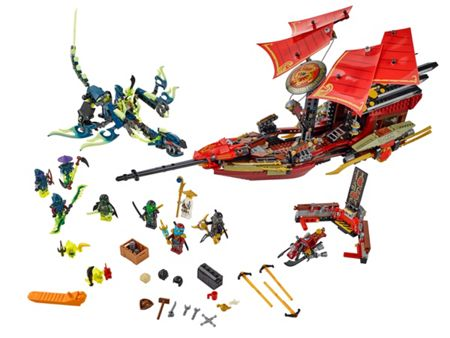 Lego Ninjago Final Flight Of Destiny`S Bounty