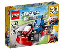 3-in-1 Red Go-Kart - 31030