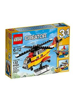 3-in-1 Cargo Helicopter - 31029