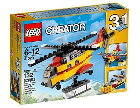 Lego 3-in-1 Cargo Helicopter - 31029