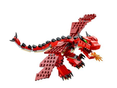 Lego 3in1 Red Creatures - 31032