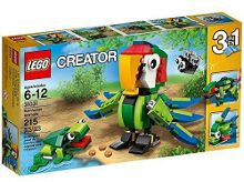 Lego 3in1 Rainforest Animals - 31031