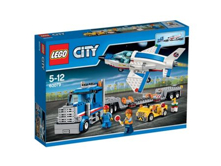 Lego City Training Jet Transporter - 60079