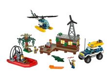 Lego Swamp Police Crook`s Hideout - 60068