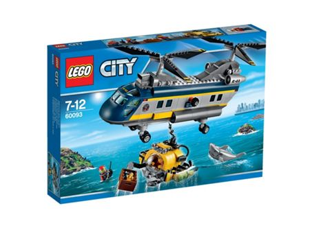 Lego City Deep Sea Helicopter - 60093